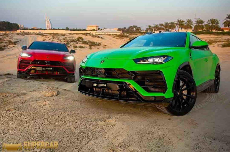 Lamborghini Urus test
