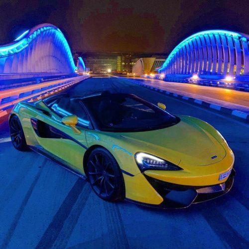 Rent MCLAREN 570S Spider Dubai