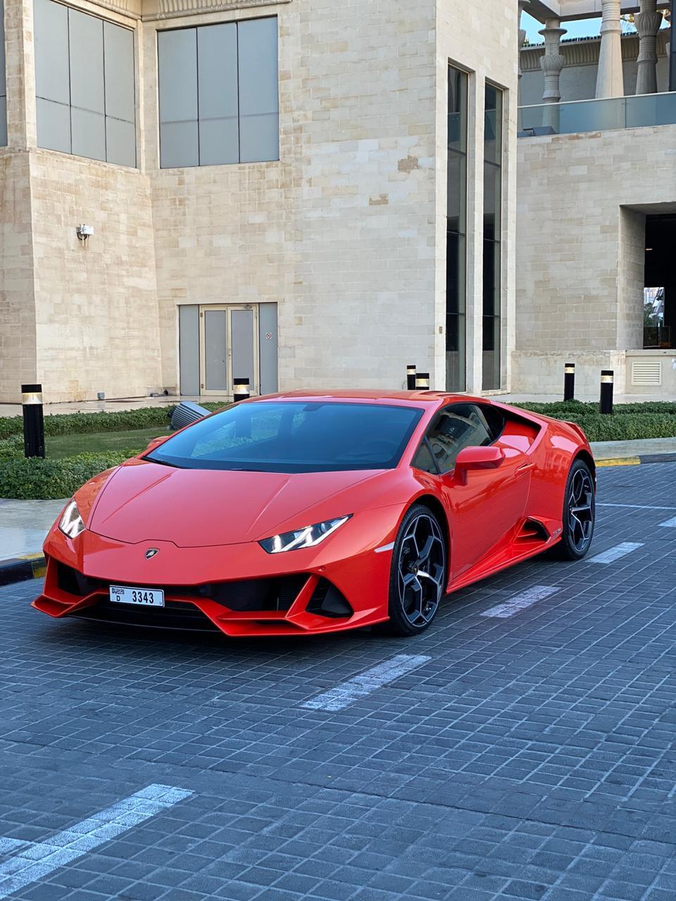 Rent Lamborghini Huracan Evo Dubai Supercar Rental Dubai