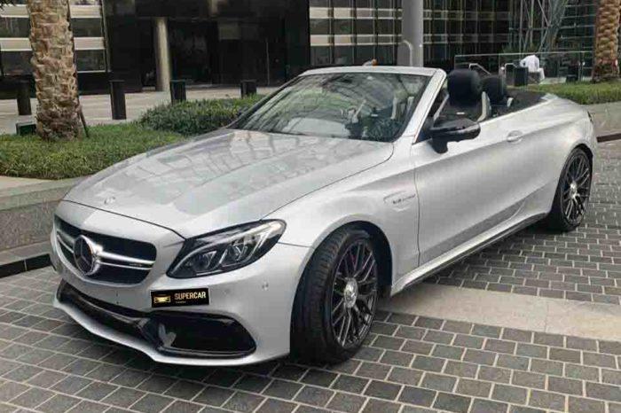 Mercedes-AMG C63s Cabriolet